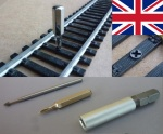 1. Screws for Hornby Gauge 00, incl. special tools